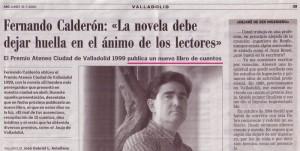 Entrevista en ABC. Julio de 2000
