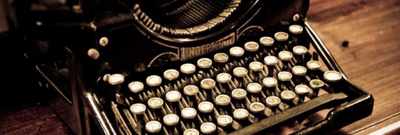 Eljoja. Máquina de escribir