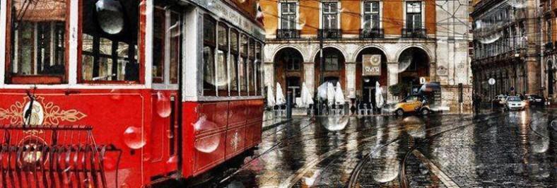 """Desde el pelaillo"". Lisboa"
