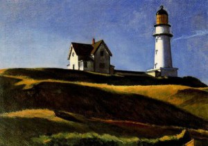 Contornos (032) Hopper. La colina del faro