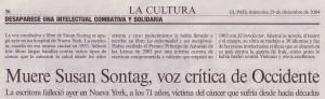Contornos (043) Susan Sontag muere