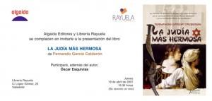 Lajudia. Valladolid. Presentacion