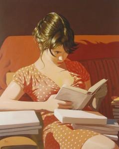 Contornos (060) Pablo Gallo. Ainara leyendo