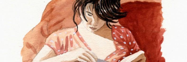 Contornos (060) Pablo Gallo. Lectora ensimismada