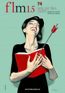 Contornos (069) Fernando Vicente. Cartel Feria del Libro Madrid 2015