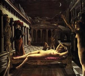 Contornos (071) Delvaux La Venus Endormie