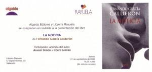 Noticias (016) Presentacion Valladolid