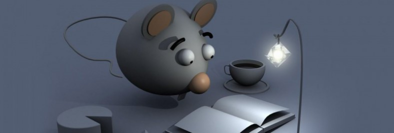 Contornos (082) Raton de biblioteca