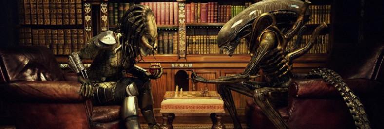 Contornos (110) Ajedrez. Alien vs Predator