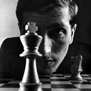 Contornos (110) Ajedrez. Bobby Fischer
