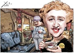 Contornos (122) Xulio Formoso. Agatha Christie