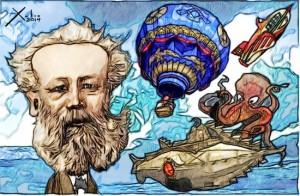 Contornos (122) Xulio Formoso. Julio Verne