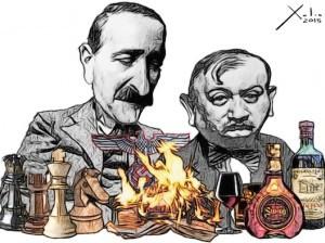Contornos (122) Xulio Formoso. Zweig y Roth