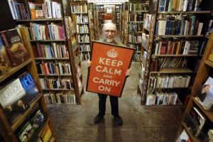 Contornos (123) Barter Books calm