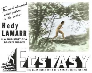 Hedy Lamarr. Ecstasy 2