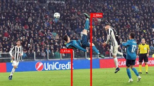 Contornos (165) Cristiano Ronaldo. Gol 0