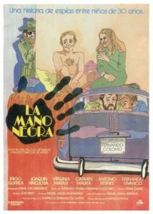 Contornos (169) La mano negra [1980] Afiche 2