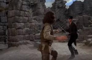 Contornos (170) La princesa prometida (2) Acantilado y duelo a espada