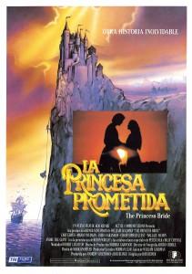 Contornos (170) La princesa prometida. Afiche