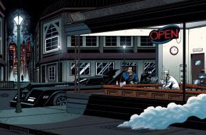 Contornos (171) Nighthawks. Ian Navarro. Superheroes