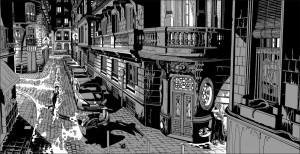 Contornos (179) Miguel Navia. Chueca. Calle Belen