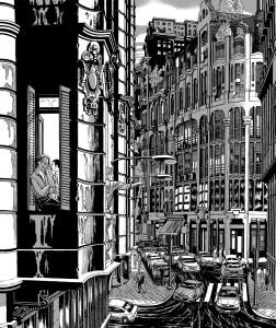 Contornos (179) Miguel Navia. Chueca. Calle Clavel