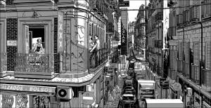 Contornos (179) Miguel Navia. Chueca. Calle Hortaleza