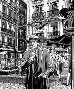 Contornos (179) Miguel Navia. Chueca. William Burroughs