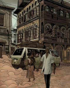 Contornos (179) Miguel Navia. El alfil viajero. Encantos africanos