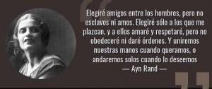 Contornos (182) Ayn Rand. Sobre la eleccion y la libertad