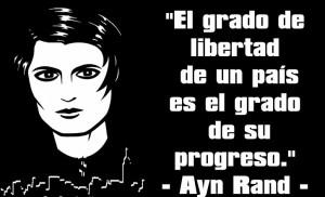 Contornos (182) Ayn Rand. Sobre la libertad y el progreso