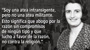 Contornos (182) Ayn Rand. Sobre su ateismo