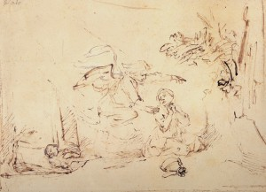 Contornos (185) Rembrandt 21