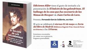 Contornos (187) Balcon de las golondrinas, El. Presentacion