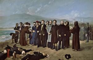 El fusilamiento de Torrijos · Antonio Gisbert